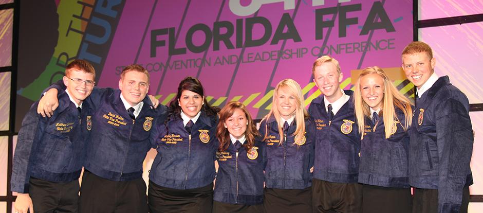 Florida FFA Association Elects 2012-13 State FFA Officers