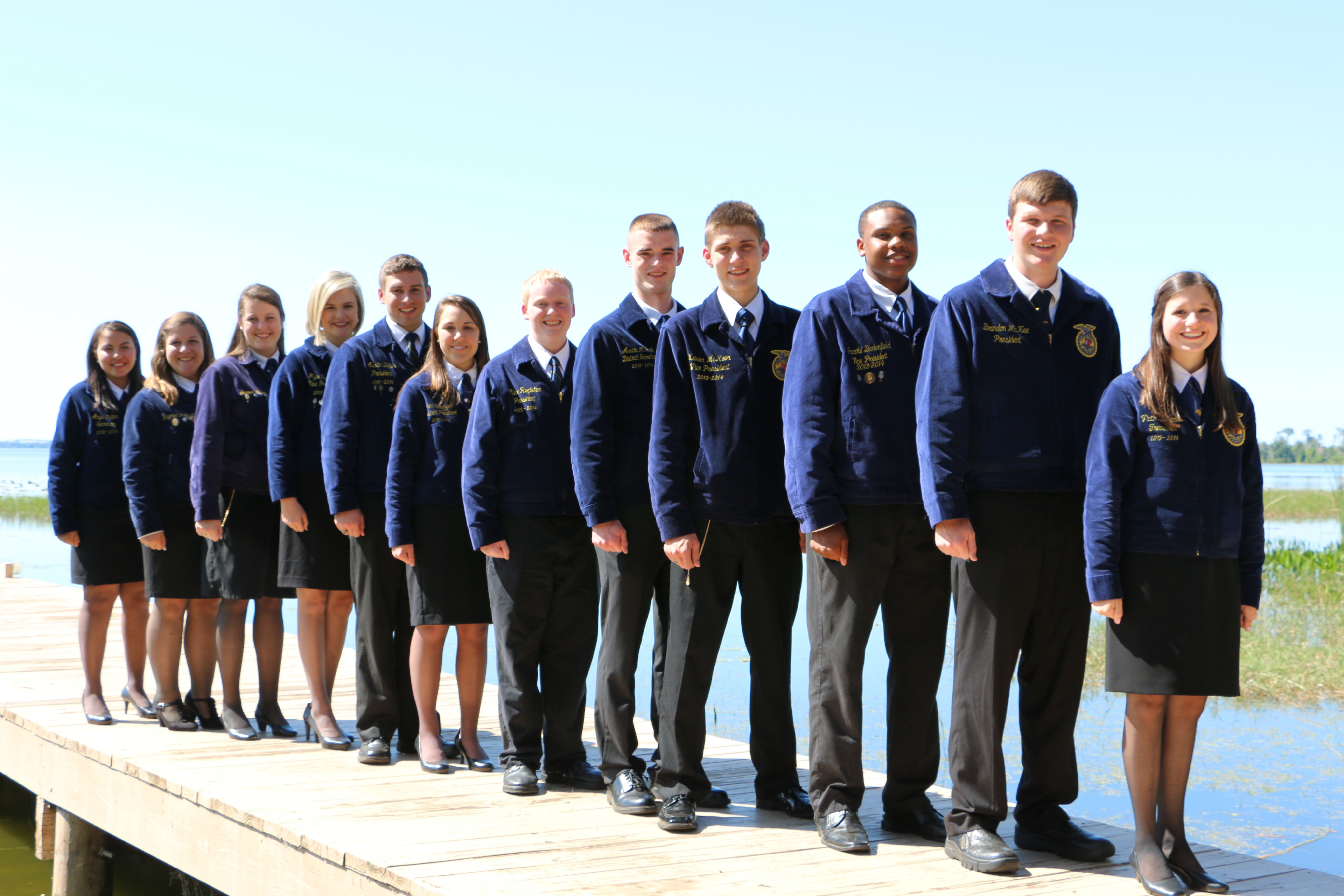 12 FFA Members Slated to Seek State FFA Office this Summer